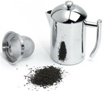 <b>20 Ounce Stainless Steel Tea Maker</b>