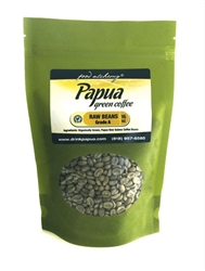 <b>Papua Raw Green Coffee (Whole Bean-16oz)<b/>