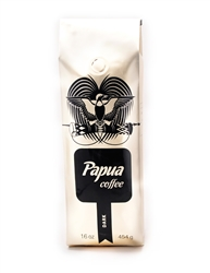 <b>Papua Coffee Dark Roast (16oz)</b>